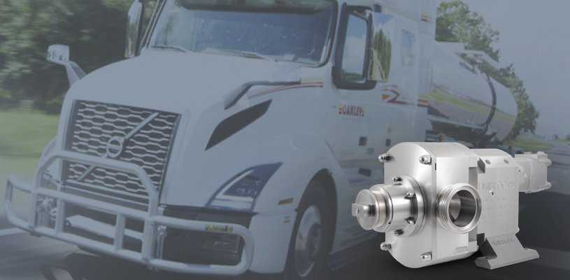Unibloc reduced the downtime of a client by 20% with their food grade tanker trailer pumps.
